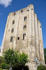 Donjon quadrangulaire, dit Tour de César - Français:   Beaugency: la Tour de César, ancien donjon.