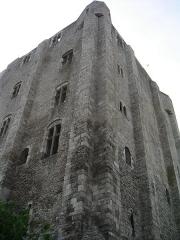 Donjon quadrangulaire, dit Tour de César - Français:   Tour de Beaugency  Photo Personnelle