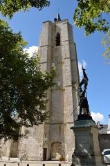 Tour Saint-Firmin - Français:   Beaugency: le clocher Saint-Firmin, vestige de l\'ancienne église paroissiale Saint-Firmin détruite pendant la Révolution.