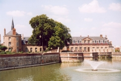 Ancien château -  France Loiret Bellegarde Photographie prise par GIRAUD Patrick