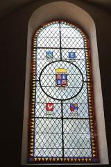 Eglise Notre-Dame - Deutsch: Bleiglasfenster in der Kirche Notre-Dame in Bellegarde (Frankreich)
