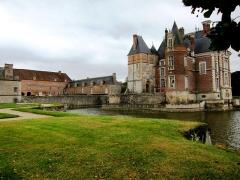 Château de la Bussière, actuellement musée de la Pêche -  A Fisherman's Castle La Bussiere