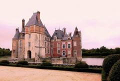 Château de la Bussière, actuellement musée de la Pêche -  Chateau de La Bussière