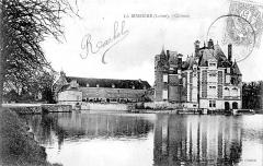 Château de la Bussière, actuellement musée de la Pêche -  Château de La Bussière, Loiret, France