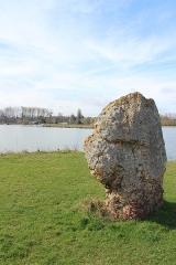 Terrain de 2000 m2 constituant le gisement préhistorique dit de la Pierre-aux-Fées - Français:   pierre aux fées  cepoy etand de la grosse pierre légende loiret  45