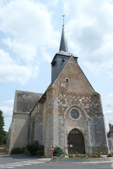 Eglise Sainte-Marguerite - Deutsch: Kirche Sainte-Marguerite in Cerdon (Frankreich)
