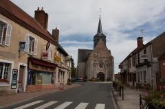 Eglise Sainte-Marguerite -  Église Sainte-Marguerite de Cerdon,  Cerdon,  Loiret, France.