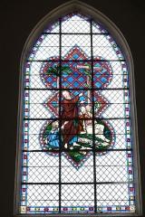 Eglise Sainte-Marguerite - Deutsch: Bleiglasfenster in der Kirche Sainte-Marguerite in Cerdon (Frankreich)
