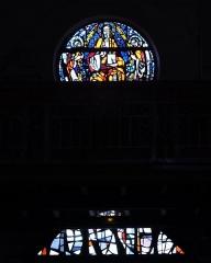 Eglise Sainte-Marguerite - Deutsch: Bleiglasfenster in der Kirche Sainte-Marguerite in Cerdon (Frankreich, Darstellung: Gottvater
