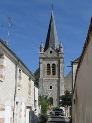 Eglise Saint-Mesmin - Français:   Église Saint-Mesmin, La Chapelle-Saint-Mesmin, Loiret, France