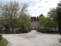 Château de la Motte - English: Château-Renard, Loiret. la Motte castle.