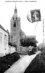 Eglise Saint-Etienne -  Église Saint-Étienne, Château-Renard, Loiret, France