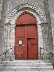 Eglise Saint-Etienne - English: Saint-Étienne church portal in Château-Renard, Loiret; classed as Monument Historique.