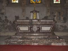 Eglise Saint-Etienne - English: Château-Renard, Saint-Étienne church - Apse altar