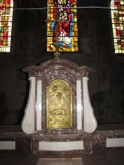 Eglise Saint-Etienne - English: Château-Renard, Saint-Étienne church - tabernacle