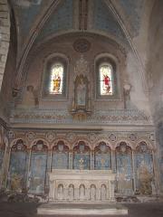 Eglise Saint-Etienne - English: Saint-Étienne church, Château-Renard. chapelle collatérale transept nord, east side.