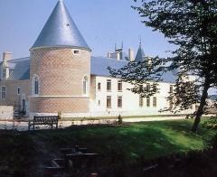 Château de Chamerolles - English:  Southern wing of Chamerolles Castle, Chilleurs-aux-Bois, Loiret, Centre, France