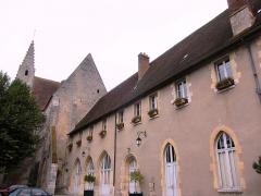Ancienne abbaye -  The Benedictine Abbey at Ferrières-en-Gâtinais