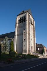 Eglise Saint-Aubin -  Église Saint-Aubin de La Ferté-Saint-Aubin - La Ferté-Saint-Aubin, Loiret, France.