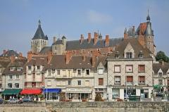 Ancien château, actuellement Musée international de la Chasse - Deutsch: Schloss Gien (Château de Gien) liegt im Tal der Loire beim Ort Gien, Frankreich.