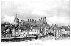 Ancien château, actuellement Musée international de la Chasse -  le château de Gien, Loiret, France