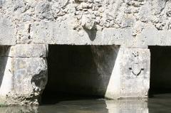Pont sur la Cléry dit Le Gril de Corbelin -  Pont du Gril de Corbelin – Commune de Griselles – Département du Loiret – France – Pont de la fin du XIIème - début du XIIIème siècle