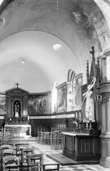 Eglise Saint-Etienne -  La chapelle Saint-Marcoul et l'autel dédié à Jeanne d'Arc, Église Saint-Étienne de Jargeau, Loiret