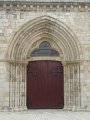 Eglise Saint-Etienne -  Portail de la tour-porche, église Saint-Etienne, Jargeau