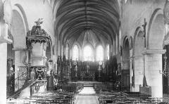 Eglise Saint-Etienne -  La nef de l'église Saint-Étienne de Jargeau, Loiret