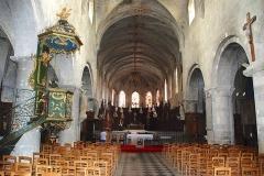Eglise Saint-Etienne - Français:   Chaire de l\'église Saint-Étienne de Jargeau.