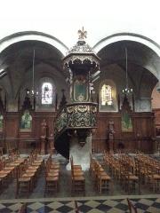 Eglise Saint-Etienne - Français:   Chaire de l\'église Saint-Étienne de Jargeau dans le Loiret.
