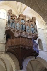 Eglise Notre-Dame - Deutsch: Orgel in der Kirche Notre-Dame in Lorris im Département Loiret der Region Centre