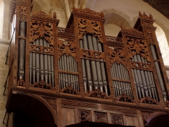 Eglise Notre-Dame - English: The oldest organ of France (of Europe ?) - 1501 : Lorris (Loiret) - neary Orleans