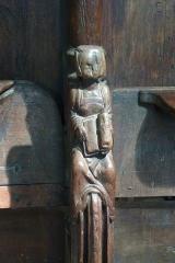 Eglise Notre-Dame - Deutsch: Chorgestühl in der Kirche Notre-Dame in Lorris im Département Loiret der Region Centre