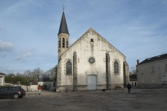 Eglise Saint-Martin - Deutsch: Katholische Pfarrkirche Saint-Martin in Malesherbes im Département Loiret (Centre-Val de Loire/Frankreich)