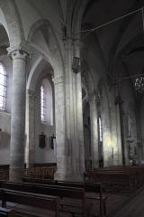 Eglise Saint-Martin - Deutsch: Katholische Pfarrkirche Saint-Martin in Malesherbes im Département Loiret (Centre-Val de Loire/Frankreich), Innenraum
