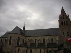 Eglise Saint-Liphard - Collégiale Saint-Liphard de Meung-sur-Loire (Loiret, France), façade nord