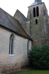 Eglise Notre-Dame et Saint-Blaise - Français:   Montbouy - Eglise Notre-Dame La nef et le clocher vu du Sud-Ouest