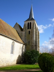 Eglise Notre-Dame et Saint-Blaise - English: Montbouy, Loiret, Centre region, France. Notre-Dame et Saint-Blaise church, viewed from the south.