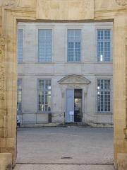 Ancien évêché, puis bibliothèque municipale, actuellement annexe de la médiathèque - Hôtel Dupanloup, ancien palais épiscopal, à Orléans (Loiret, France)