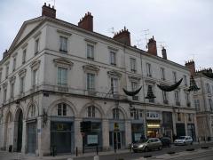 Immeuble - English: The buildings n°1, 3 of Rue Jeanne-d'Arc in Orléans (Loiret, Centre, France).