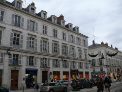Immeuble - English: The building n°31 of Rue Jeanne-d'Arc in Orléans (Loiret, Centre, France).
