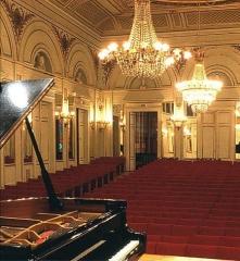 Institut -  La salle de l'Institut; Conservatoire à rayonnement départemental d'Orléans