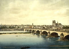Pont George V -  Photochrom print by Photoglob Zürich, between 1890 and 1900. From the Photochrom Prints Collection at the Library of Congress More photochroms from France | More photochrom prints  [PD] This picture is in the public domain