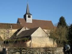 Eglise Saint-Germain - Français:   Saint-Germain-des-Prés, l\'église.