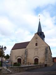 Eglise Saint-Germain - Français:   Saint-Germain-des-Prés (Loiret, France); église.
