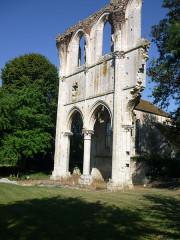 Ruines de l'abbaye de Fontainejean (ou Fontaine-Jean) - Deutsch: Klosterruine Fontainejean
