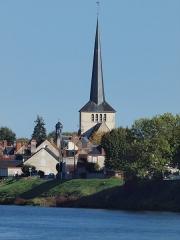 Eglise Saint-Germain - Français:   Sully-sur-Loire (Loiret, France); la Loire en octobre 2017.