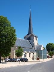 Eglise Saint-Germain - Français:   Église Saint-Germain de Sully-sur-Loire (Loiret, France)