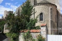 Eglise Saint-Gault d'Yèvre-le-Châtel - Français:   Eglise Saint-Gault de Yèvre-le-Châtel. Vue de l\'abside à L\'Est.